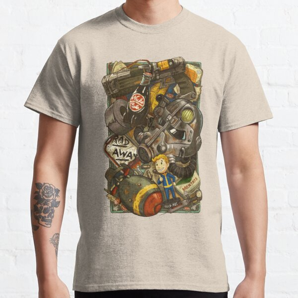 Wasteland Cache Classic T-Shirt