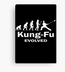 Kung- Fu Evolved Canvas Print