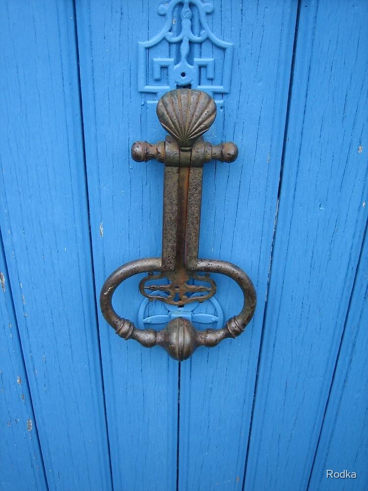 Old Door Knocker in France by Rodka