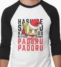 SABER NERO -CHRISTMAS PADORU PADORU Men's Baseball ¾ T-Shirt
