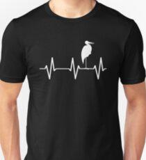 stork lover - stork heartbeat Unisex T-Shirt