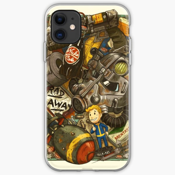 Wasteland Cache iPhone Soft Case