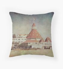 I wish I could be here..... Throw Pillow