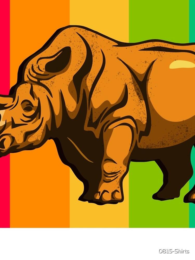Nashorn von 0815-Shirts
