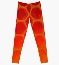 Honeycomb Gold - The Bee's Gift Leggings