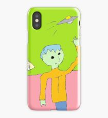 """Tommy Tries to Touch Tomorrow"" by Richard F. Yates iPhone Case"