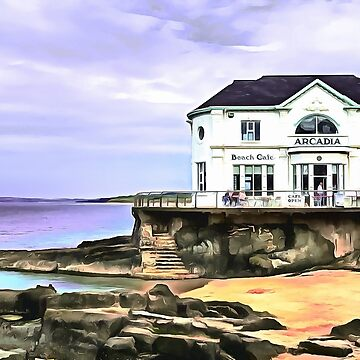 The Arcadia, Portrush, Ireland. (Painting.) by cmphotographs