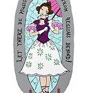 haunted lady by Clobbersmash