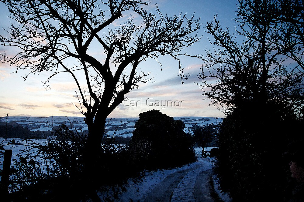 Edenfield - A View  by Carl Gaynor