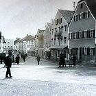 Marketplace in Triftern, Lower Bavaria, Germany  by Bine