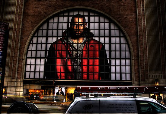 NIKE STORE FRONT, NEW YORK by Diane Peresie