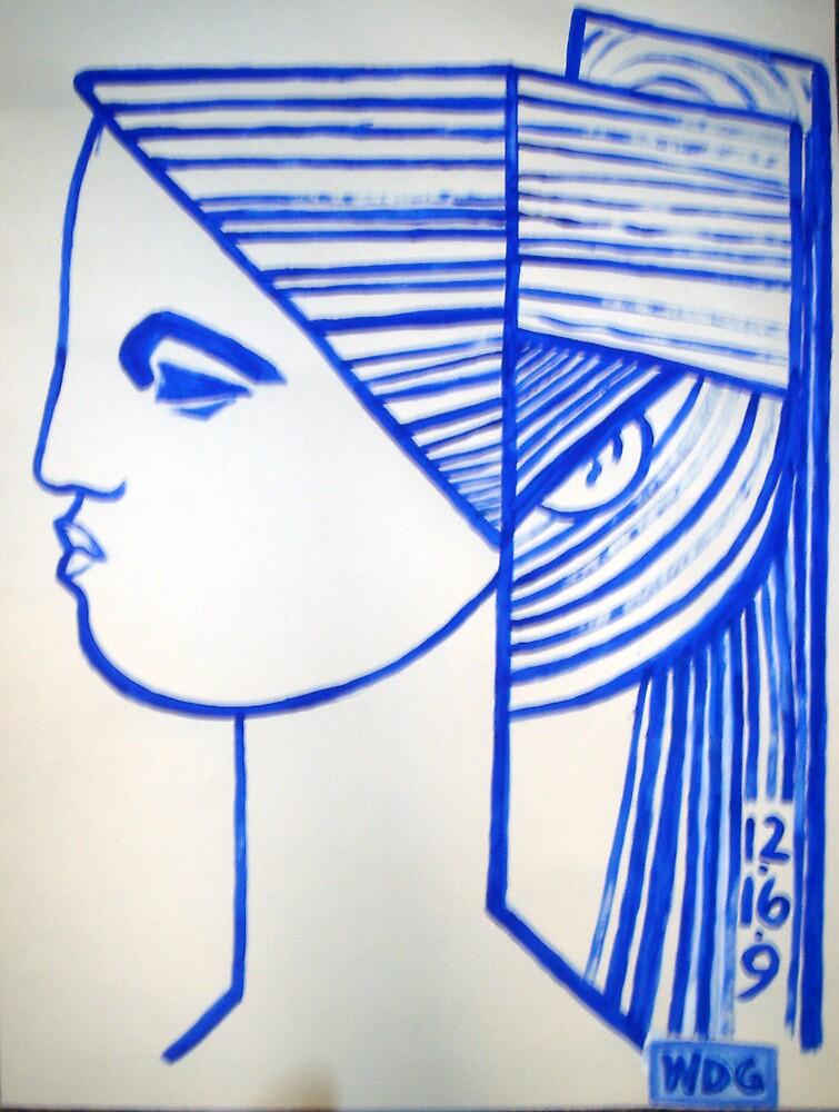 PROFILE BLUE by WILLIAM DAVID GARRETT