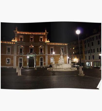 Brescia by night Poster