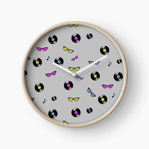 Candy Vinyl Clock