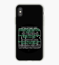 WHAT WILL HAPPEN TOMORROW iPhone Case