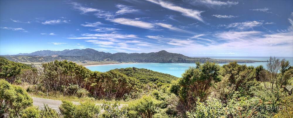 Hick's Bay by Antony Burton