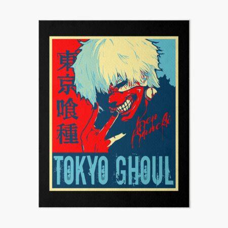 Tokyo Ghoul Ken Kaneki Name Dripping Art Board Print