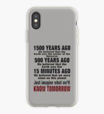 TOMORROW iPhone Case