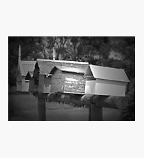 Letterboxes Photographic Print