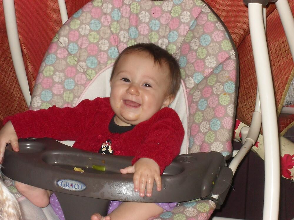 baby in swing by abbeyswd