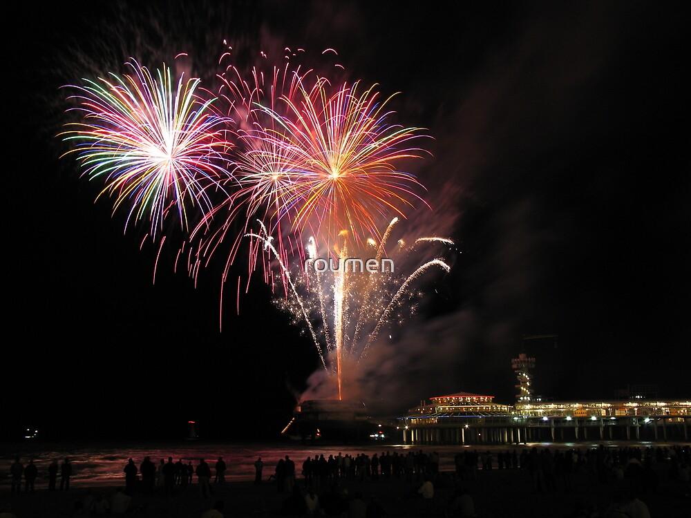 Fireworks by roumen