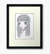 { リボン } Framed Print