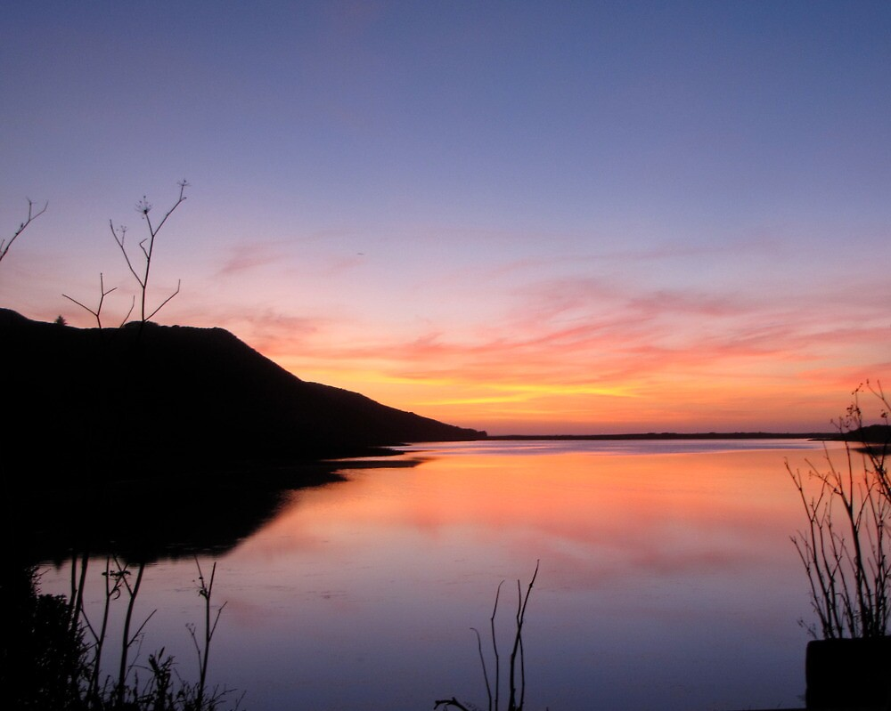 Rodeo Lagoon Sunset by stevenjay
