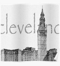 Cleveland's Landmark Poster