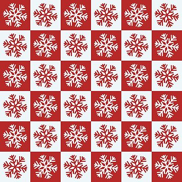Christmas Snowflake Pattern Art by FrancisDigital