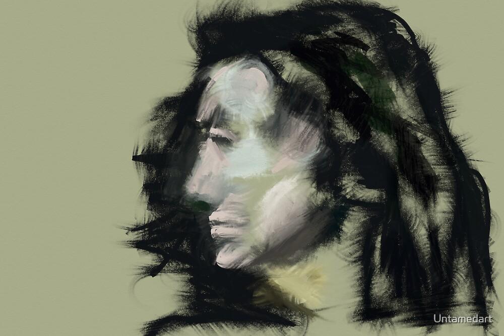 Black hair by Untamedart