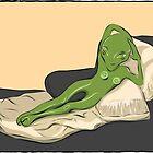The Alien Nude Maja by Tam-Ara