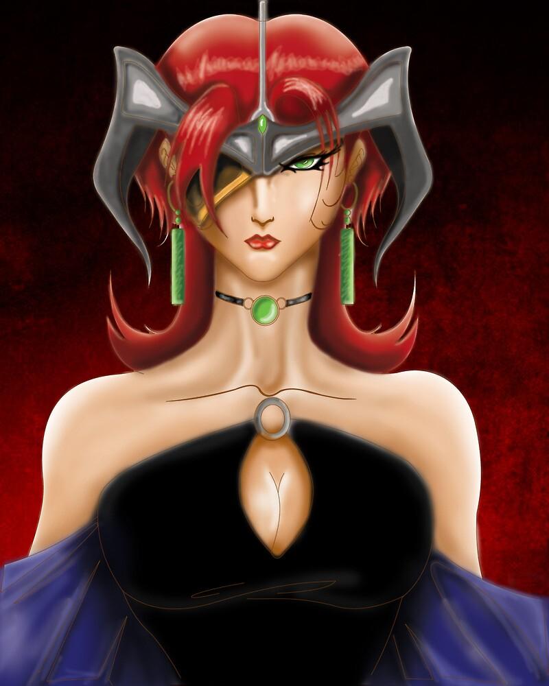 Evil girl by FF-Side