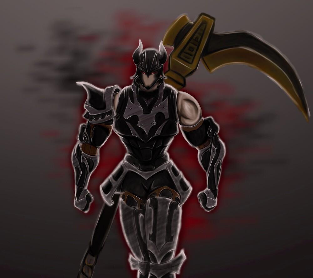 Final Fantasy XI Dark Knight Artifact Armor by FF-Side