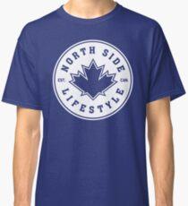 NSL Canada White Leaf Crest Classic T-Shirt