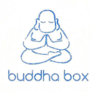 Buddha Box Blue by Italianricanart