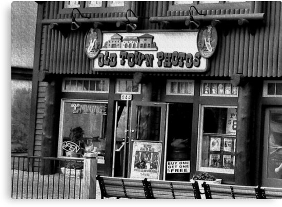 """""""Gatlinburg, Tennessee Series, #5, 'The Old Timey Photo Shop, 4th Picture'""""... prints and products  by © Bob Hall"""