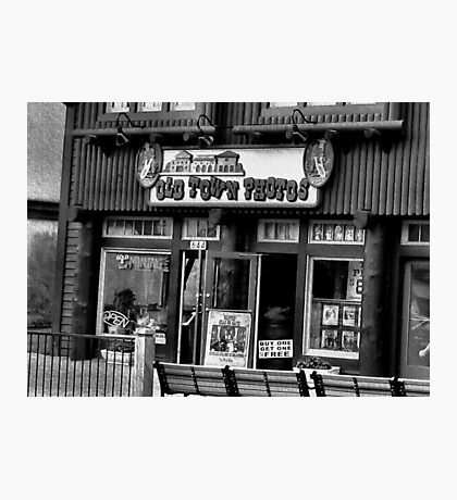 """""""Gatlinburg, Tennessee Series, #5, 'The Old Timey Photo Shop, 4th Picture'""""... prints and products  Photographic Print"""