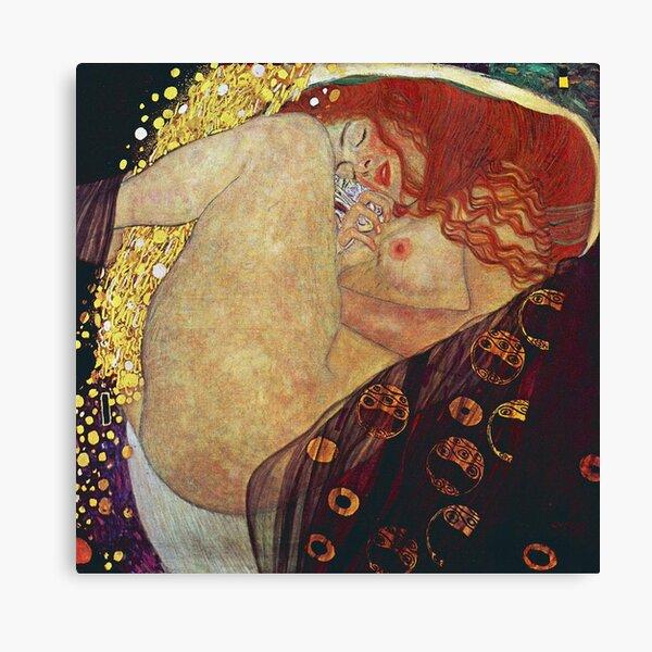 Gustav Klimt Danaë  Canvas Print