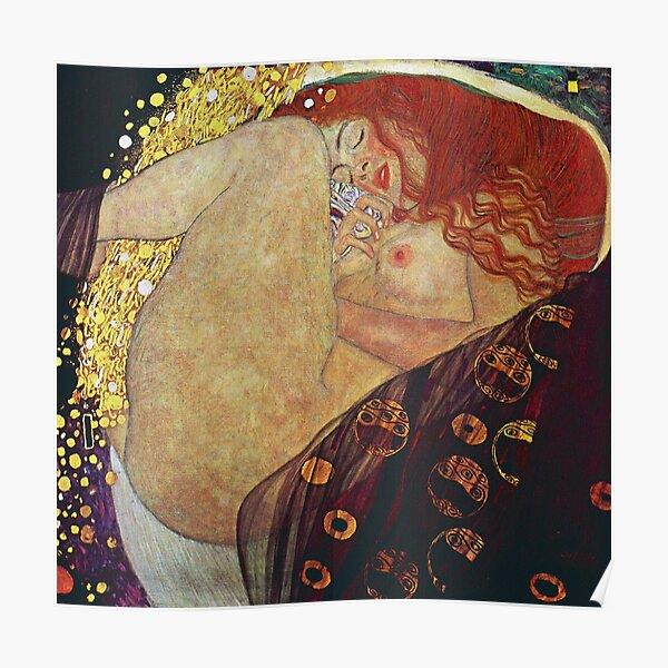 Gustav Klimt Danaë Poster