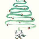 Friedenstaube Weihnachten – hell von Judith Ganter