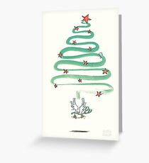 Friedenstaube Weihnachten – hell Grußkarte