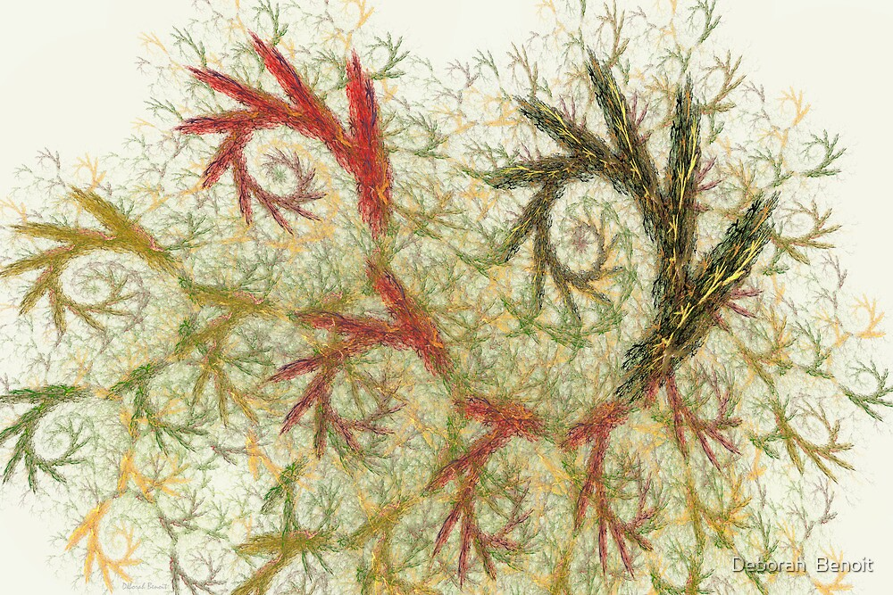 Spiral Embroidery by Deborah  Benoit