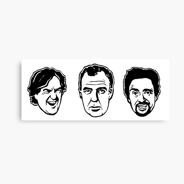 Jeremy Clarkson, Richard Hammond, James May Canvas Print