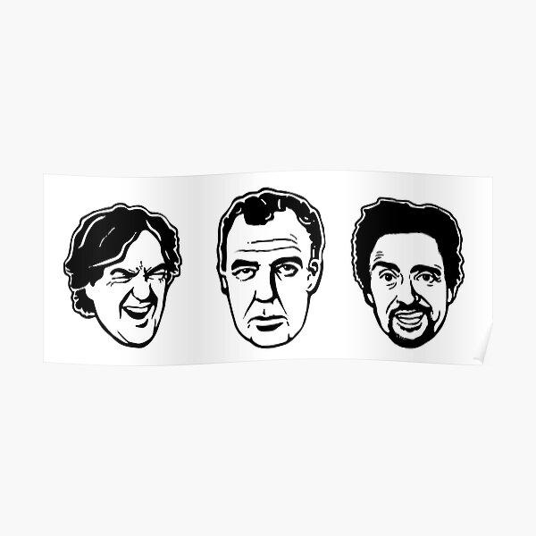 Jeremy Clarkson, Richard Hammond, James May Poster