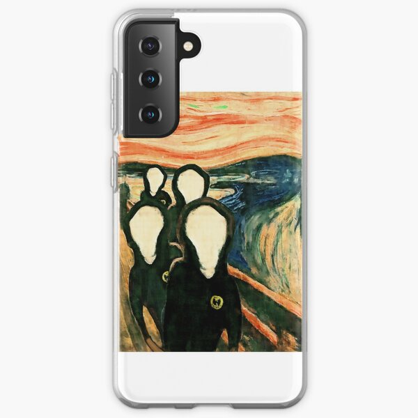 Wu Scream - www.art-customized.com Samsung Galaxy Soft Case