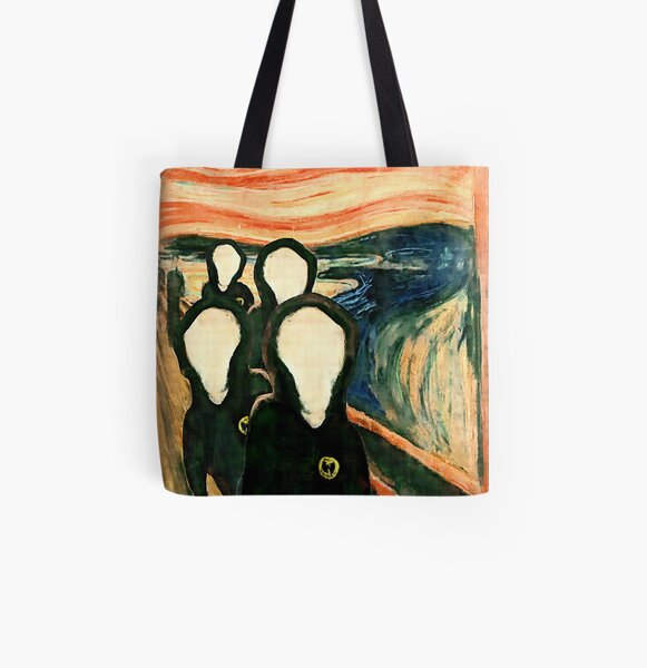 Wu Scream - www.art-customized.com All Over Print Tote Bag