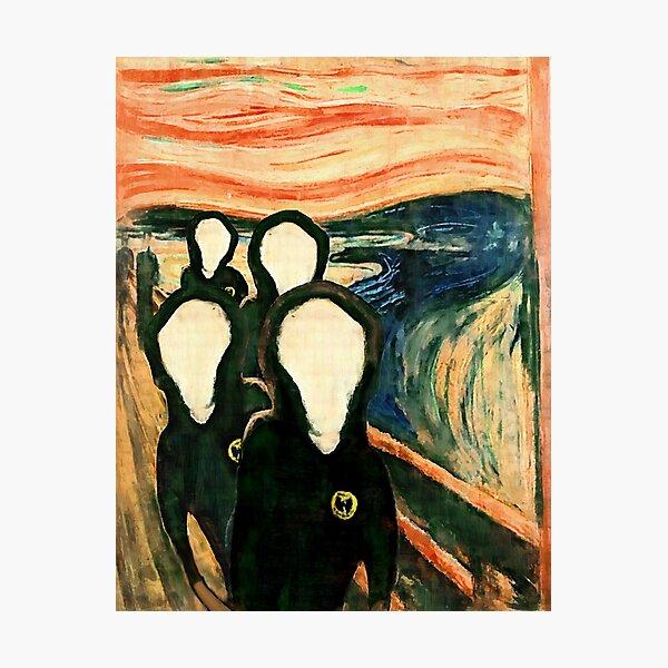 Wu Scream - www.art-customized.com Photographic Print
