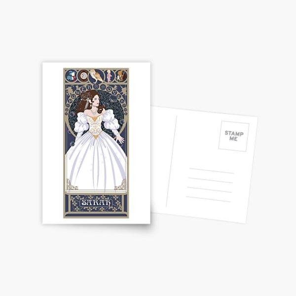 Sarah Nouveau - Labyrinth Postcard