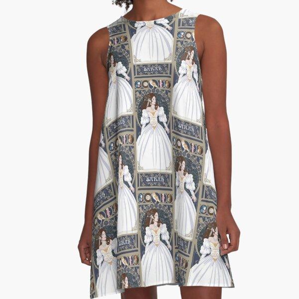 Sarah Nouveau - Labyrinth A-Line Dress