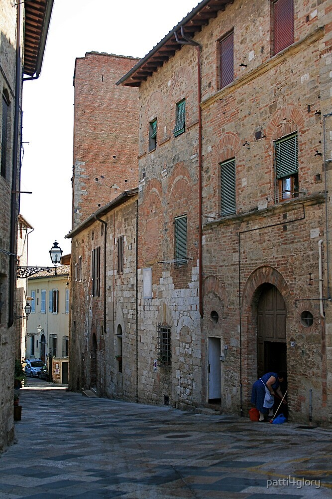 Cleaning the Street Front, Italy by patti4glory